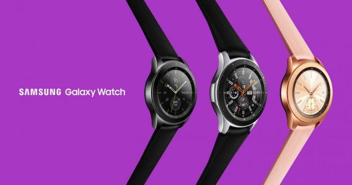 Samsung Galaxy Watch 42mm 46mm release Tizen OS