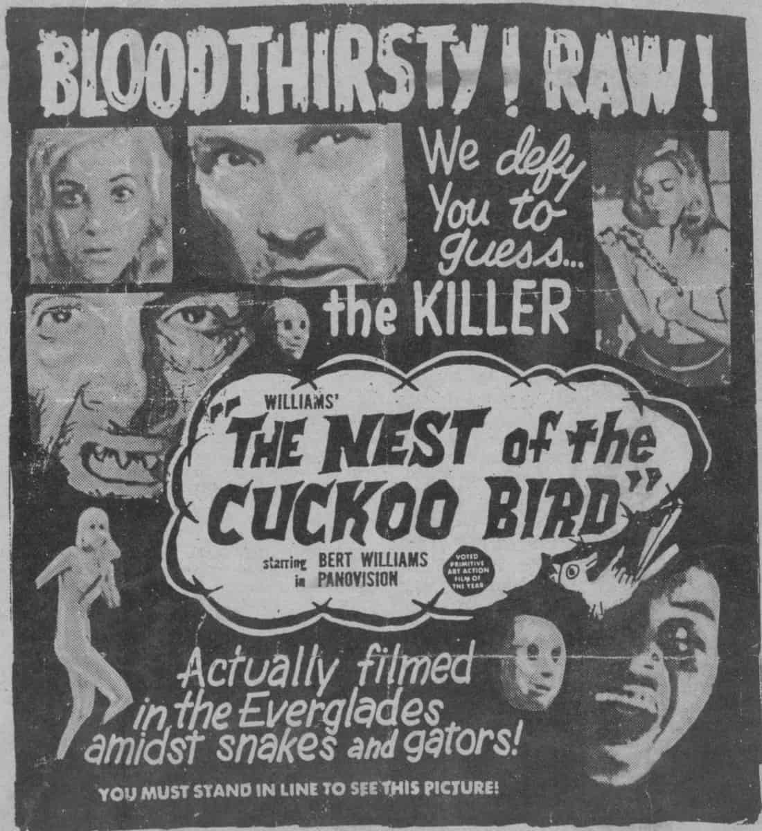 The Nest of the Cuckoo Birds - Movie Poster