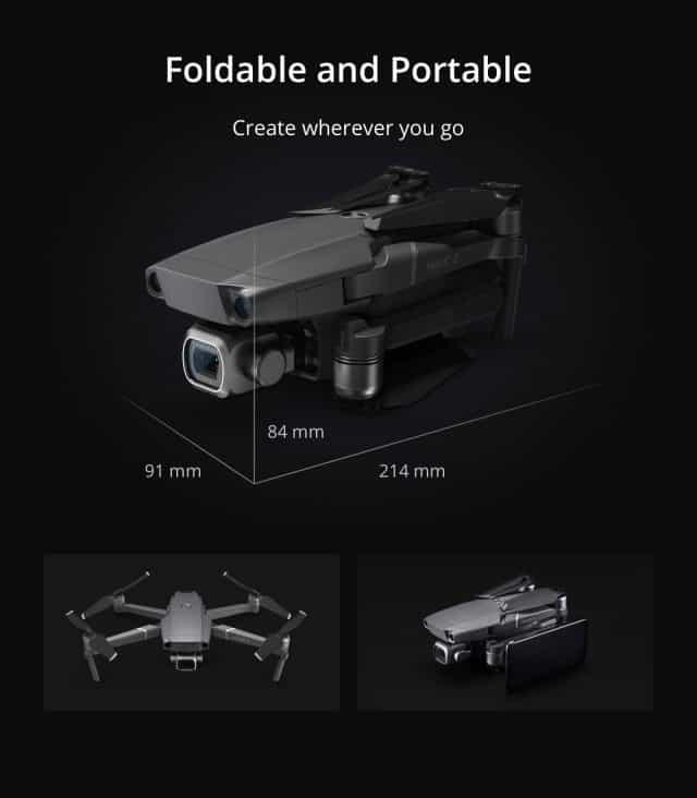 DJI Mavic 2 Series drones - Zoom and Pro