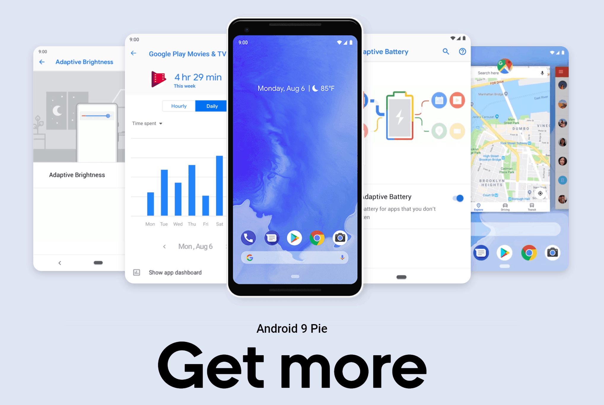 Google Android 9 Pie - Gesture Navigation