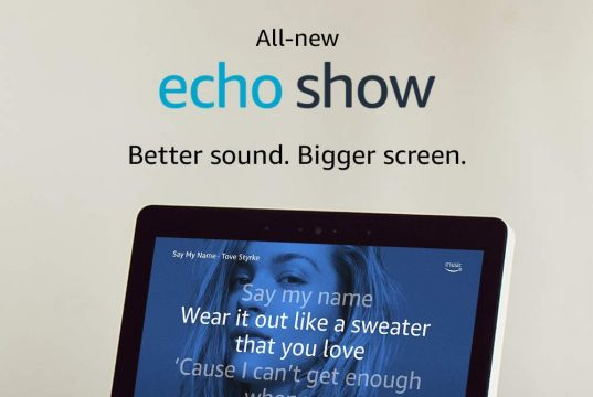 "All-new Echo Show (2nd Gen) - Premium sound and a vibrant 10"" HD screen"