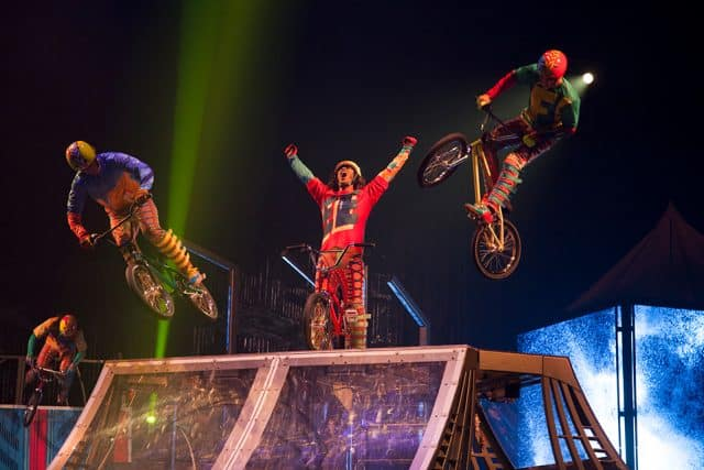 Cirque du Soleil VOLTA preview news Stark Insider BMW