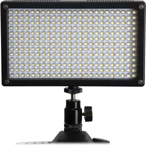 Genaray LED-7100T 312 LED Variable-Color On-Camera Light