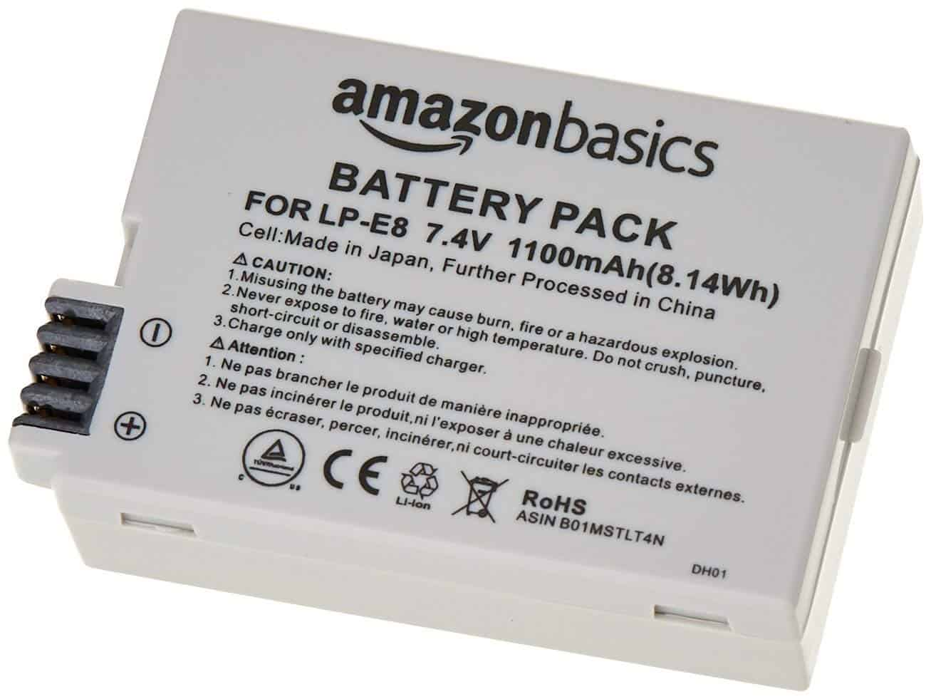 Camera News: High quality, cheap batteries for your Canon