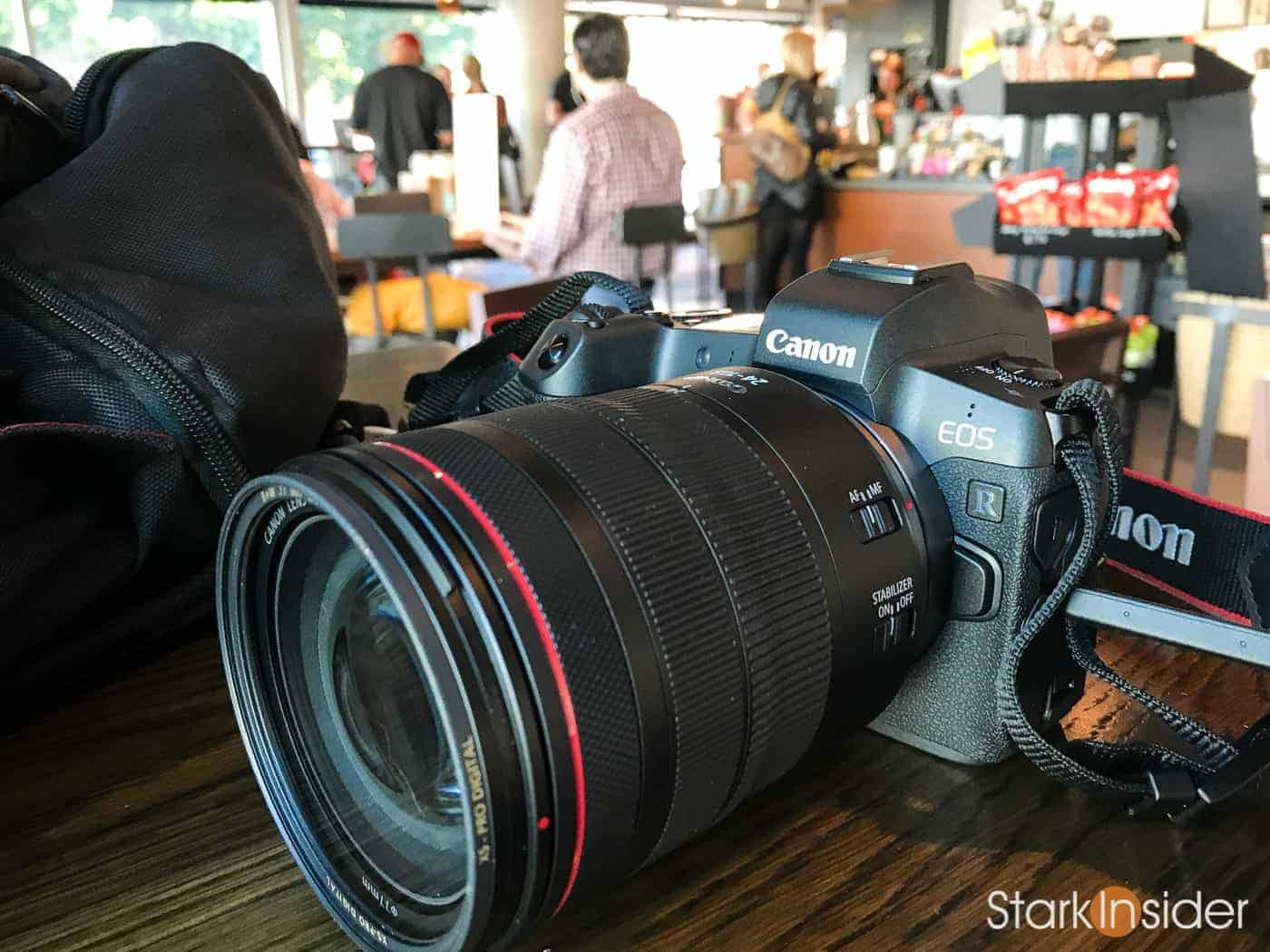 Canon EOS R Mirrorless Camera: First impressions by a GH5