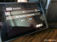 Canon EOS R: M-Fn touchbar customization
