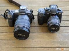 Canon EOS R vs Panasonic GH5
