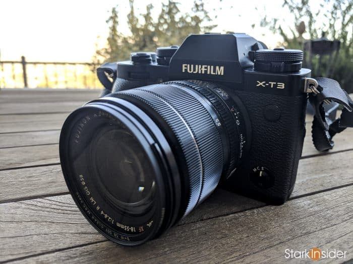 Fujifilm X-T3: Hands-on first impressions by Clinton Stark