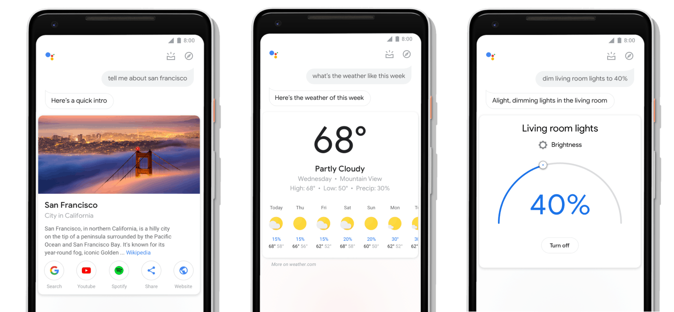 Redesigned Google Assistant