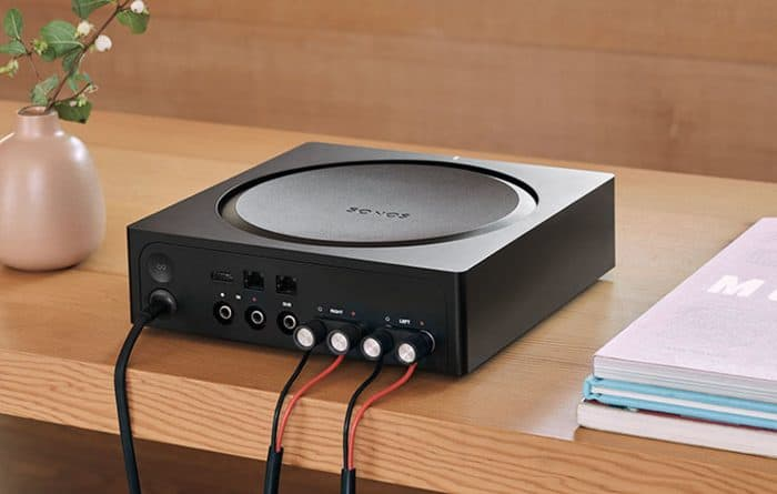 Sonos Amp: rear connections