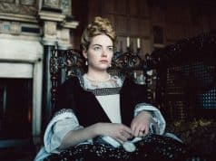 Emma Stone in The Favourite