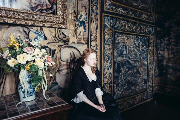 The Favourite film review - Emma Stone