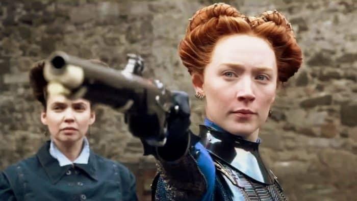 Saoirse Ronan as Mary Stuart.