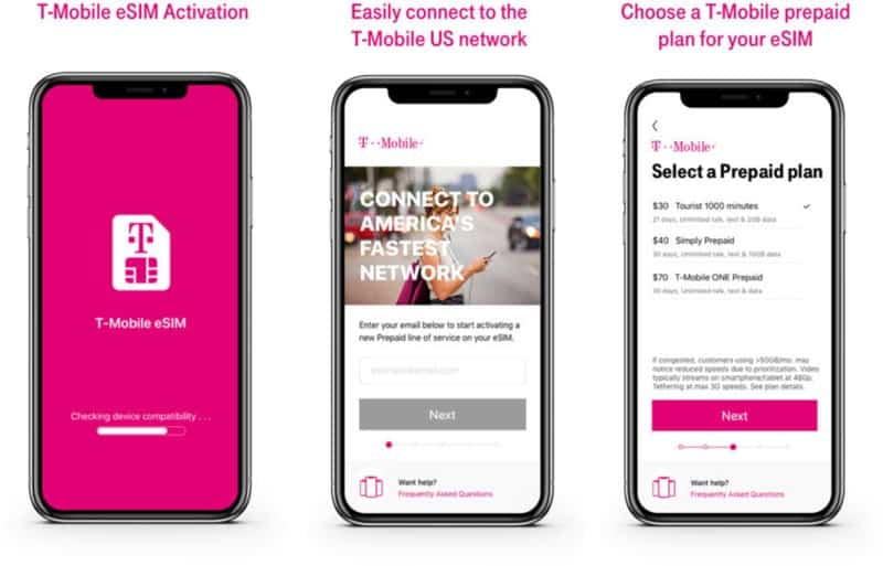 T-Mobile now offers eSIM support for iPhone XS, XR | Stark