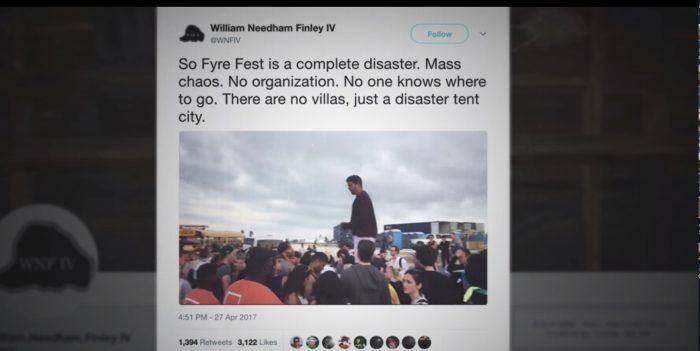Fyre Fest disaster Twitter