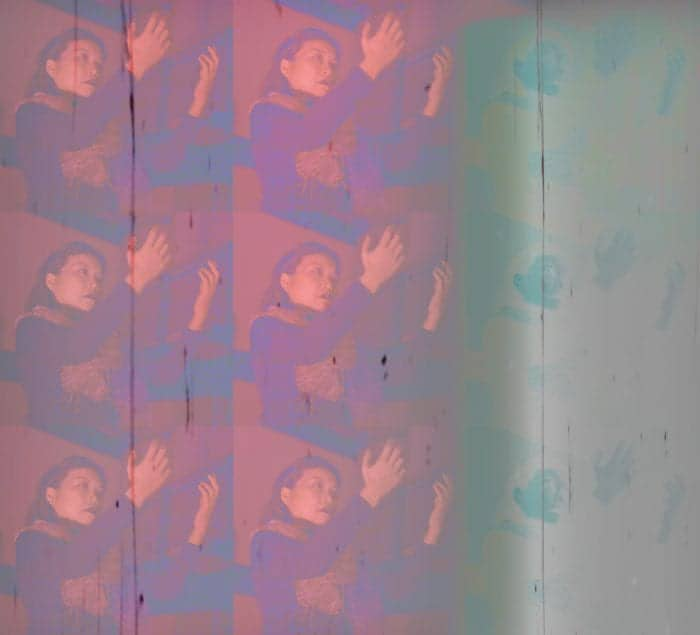 Loni Stark screen print by Clinton Stark