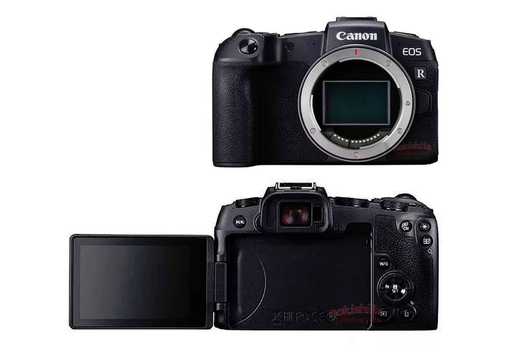 Canon Eos Rp Full Frame Mirrorless Camera Is Lighter