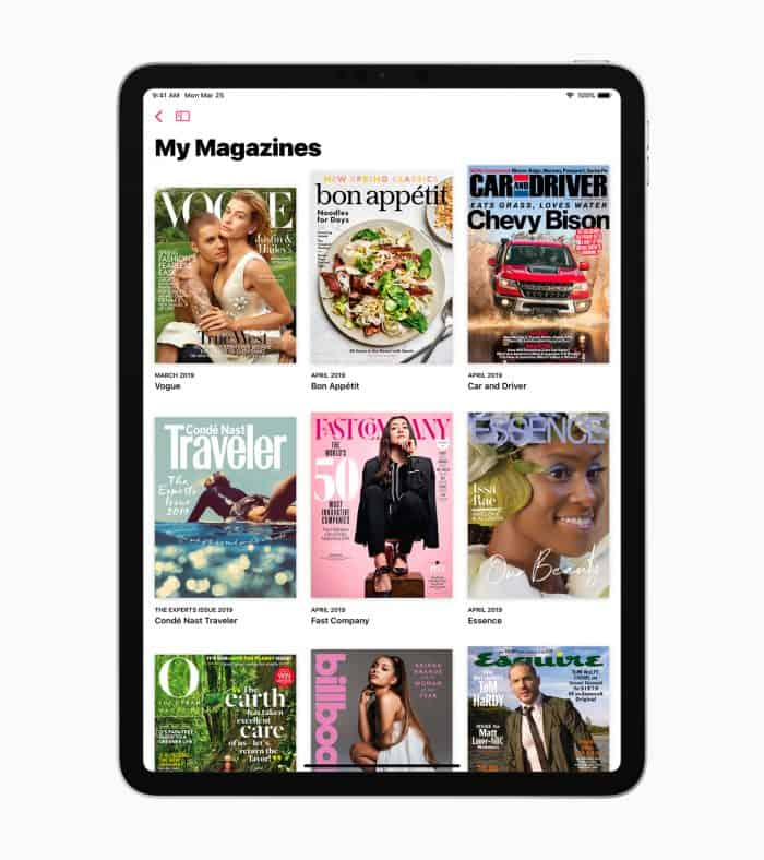 Apple News Plus subscription launched pricing Texture app