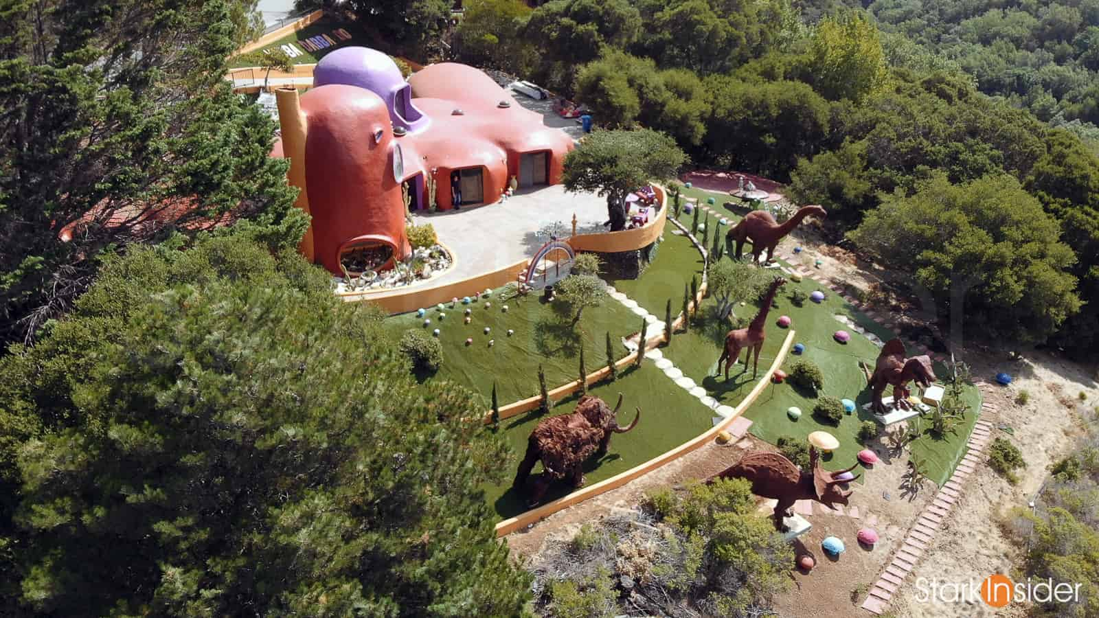 Video Feature: Go inside iconic Flintstone House w/ home