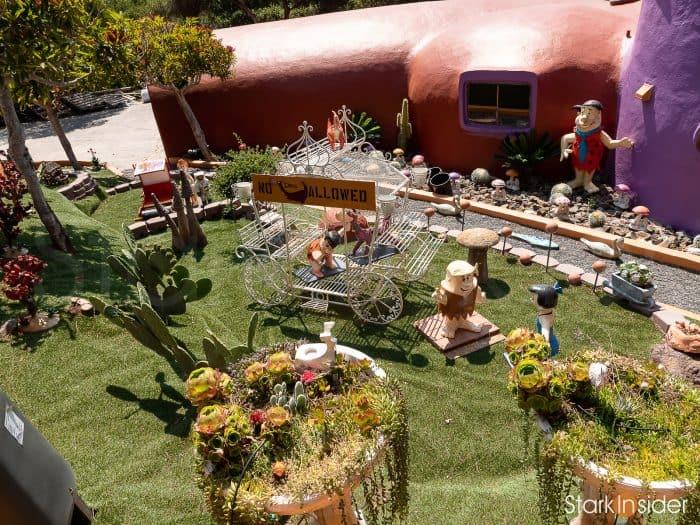 Flintstone House: Front Yard
