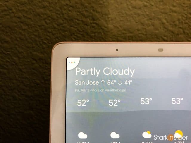 Google Home Hub smart speaker with display: Continued Conversations icon