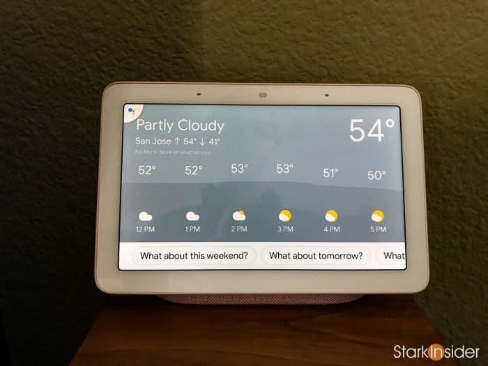 Google Home Hub smart speaker with display: Continued Conversations command
