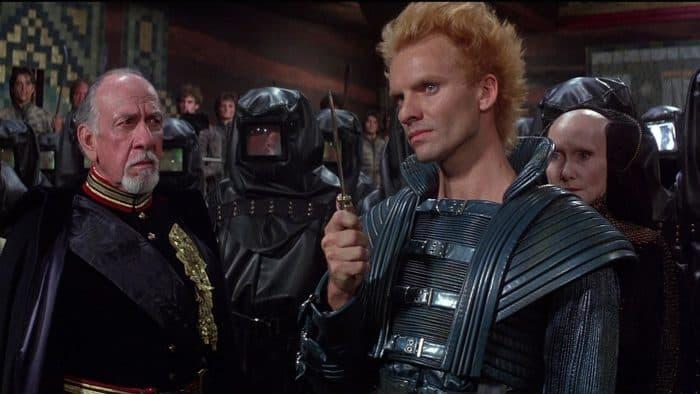 Sting in Dune - David Lynch final cut dream