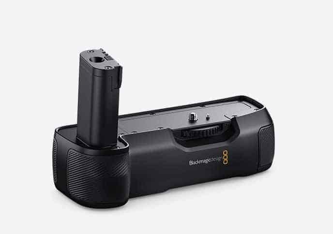 Blackmagic Pocket 4K Cinema Camera battery grip