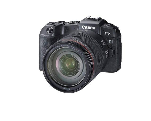 Canon EOS RP sales report mirrorless camera market