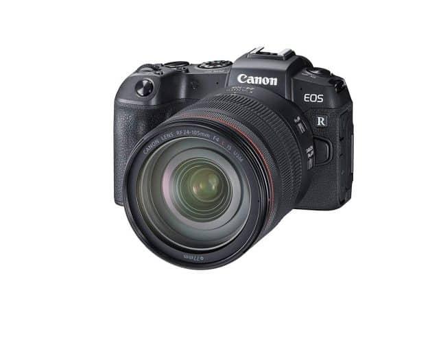 Canon EOS RP sales report mirrorless camera market