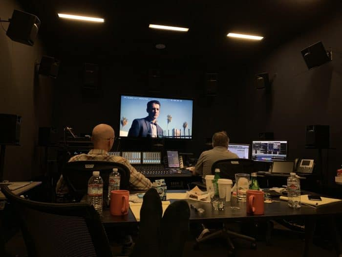 Sound Mixing Too Old to Die Young behind the scenes film