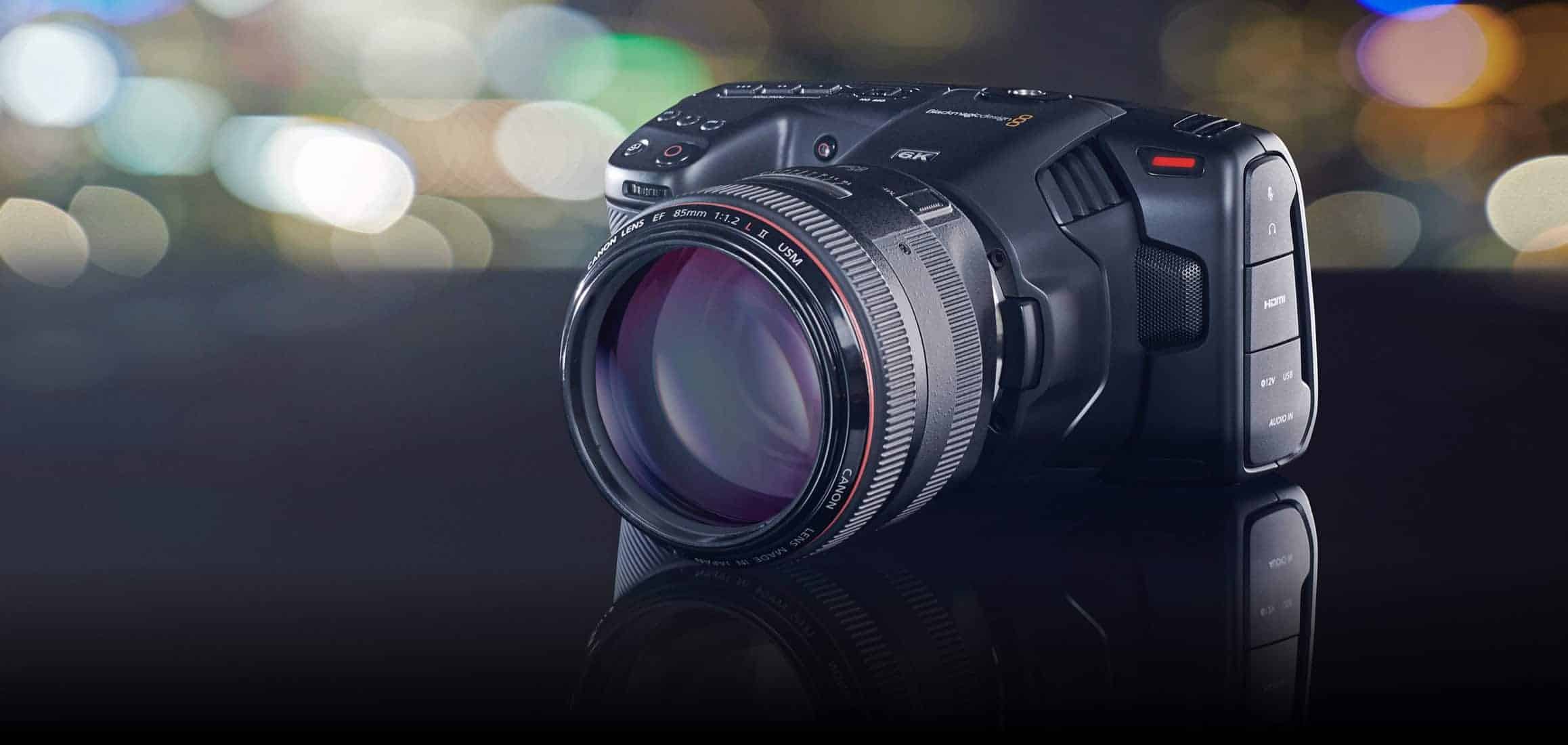 Camera News: Blackmagic Design adds 6K EF mount version of the