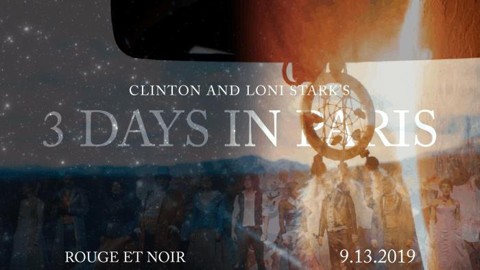 3 Days in Paris Countdown 6 - Rouge et Noir by Clinton and Loni Stark