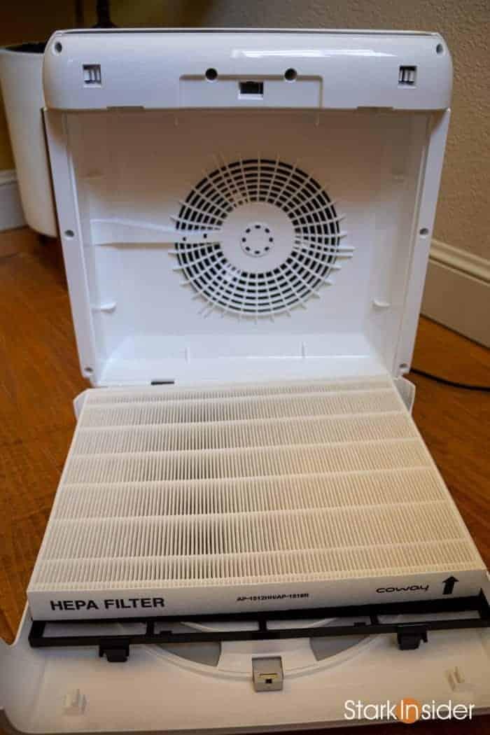 Coway Mighty AP-1512HH interior fan