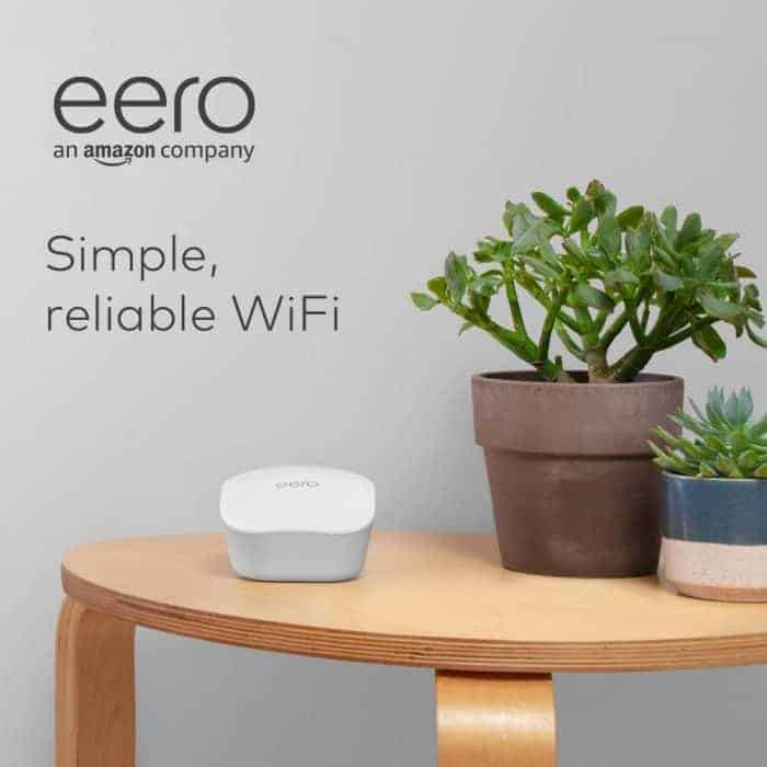 eero mesh WiFi system – router for whole-home coverage (3-pack)