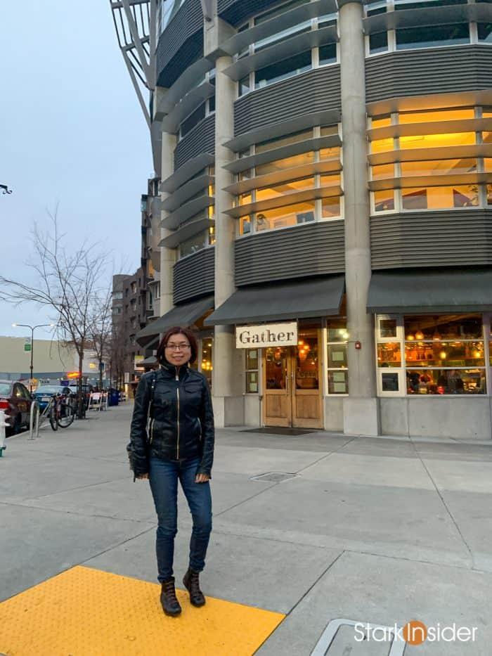 Loni Stark at Gather, Berkeley - Gatz review | Berkeley Repertory Theatre