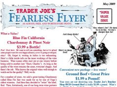 Trader Joe's response to panic buying during coronavirus COVID-19 - Fearless Flyer