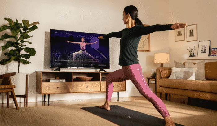 Peloton app workout at home