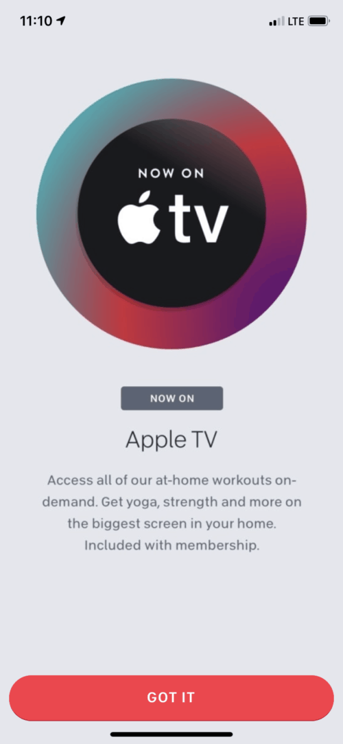 Peloton App now available for Apple TV