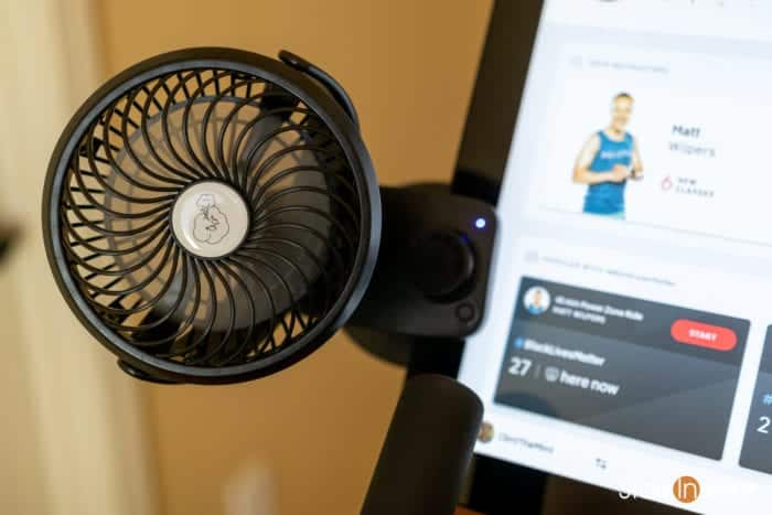 Peloton Top 10 Best Accessories: USB Fan for handle bars