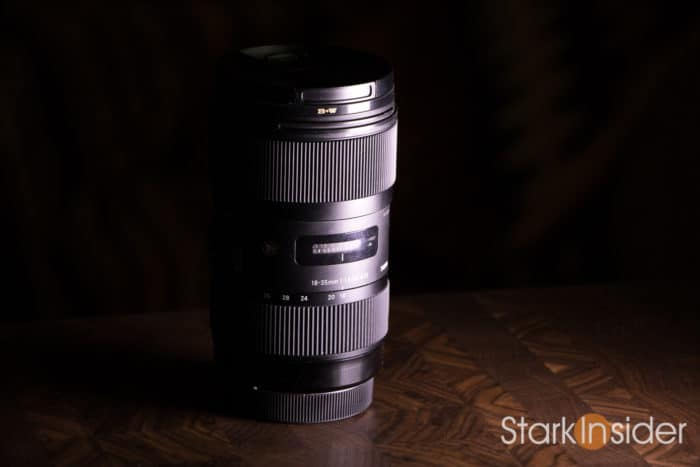 Shooting video with the Sigma 18-35mm F/1.8 ART lens