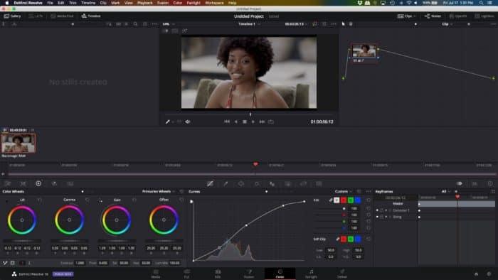 Blackmagic URSA Mini Pro and DaVinci Resolve on MacBook Pro