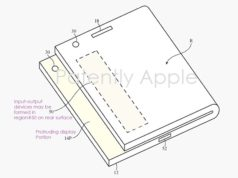 USPTO Foldable Patent for Apple iPhone and iPad design