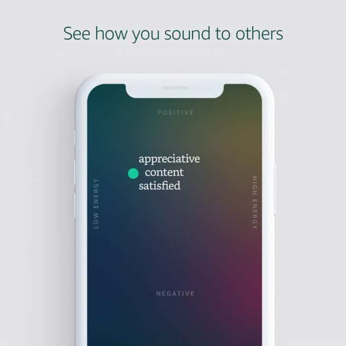 Amazon Halo - see how you sound to others