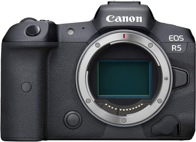 Canon EOS R5 Full-Frame Mirrorless Camera with 8K Video