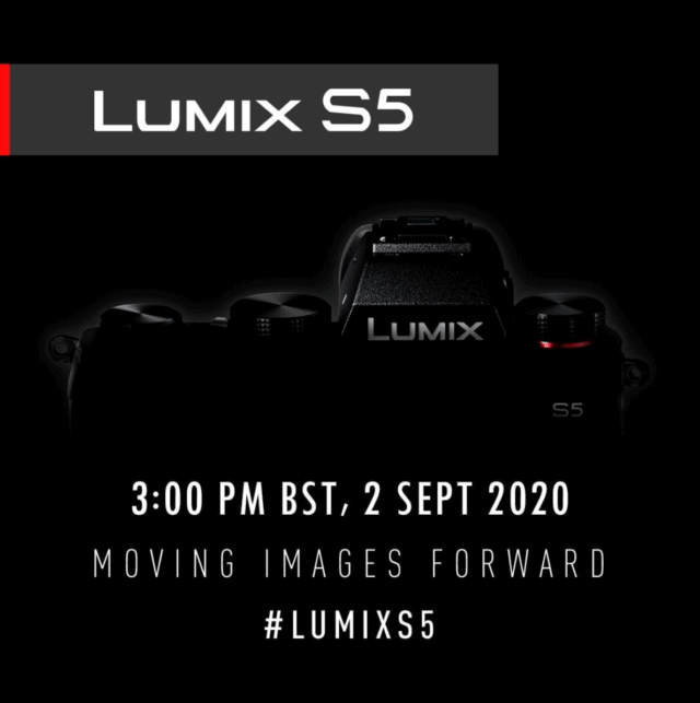 Panasonic Lumix S5 - Full-frame mirrorless camera announcement September 2, 2020