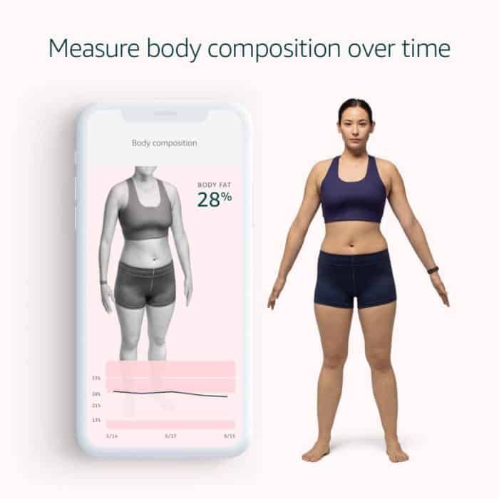 Amazon Halo - measure body composition over time