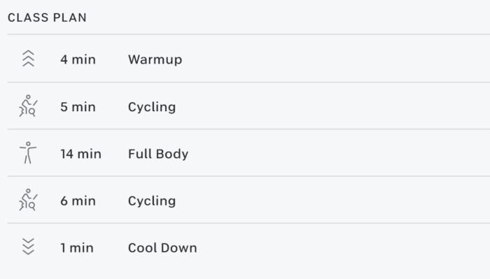 30 min Bike Bootcamp: Bodyweight
