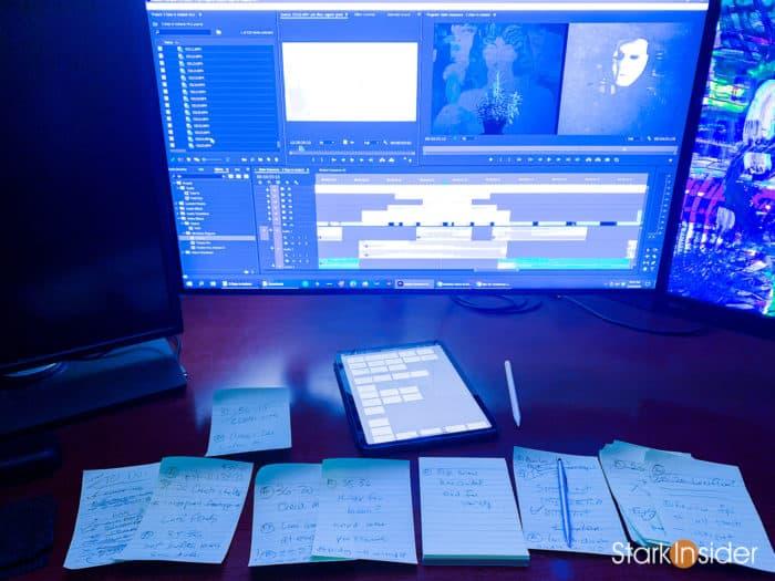 Editing 3 DAYS IN ICELAND - Clinton Stark - Short Film with Loni Stark