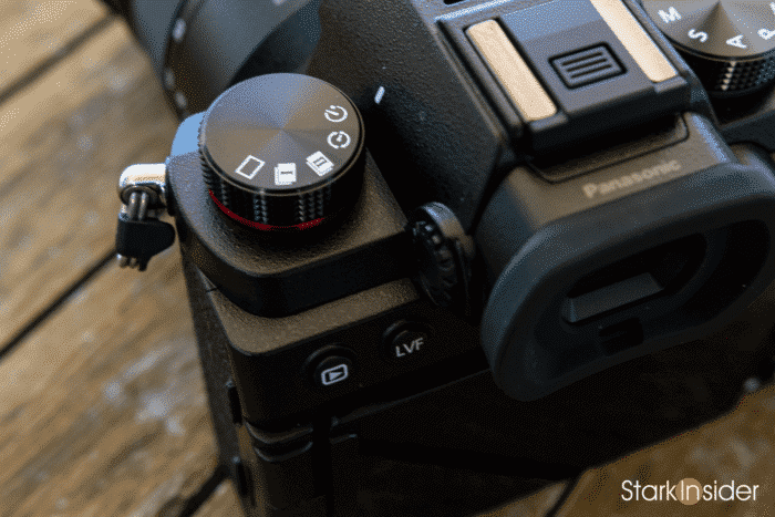 Panasonic S5 Drive Dial